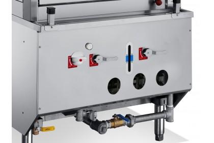 NEWWAY Three Deck Environmental Steamer Cabinet - SCH