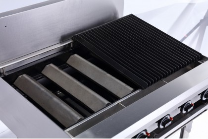 NEWWAY Commercial Gas Chargrill - NWCG