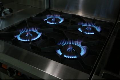 NEWWAY Commercial Gas Burner Griddle Oven Ranges - NWOB+O