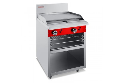 NEWWAY Gas Commercial Griddle Toaster - NWOB+T
