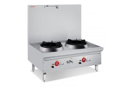 NEWWAY Compact Single / Double Stock Pot Stove With Faucet - NW-BSRL