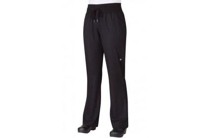 WOMENS COMFI PANTS - BLACK - PW004-BLK